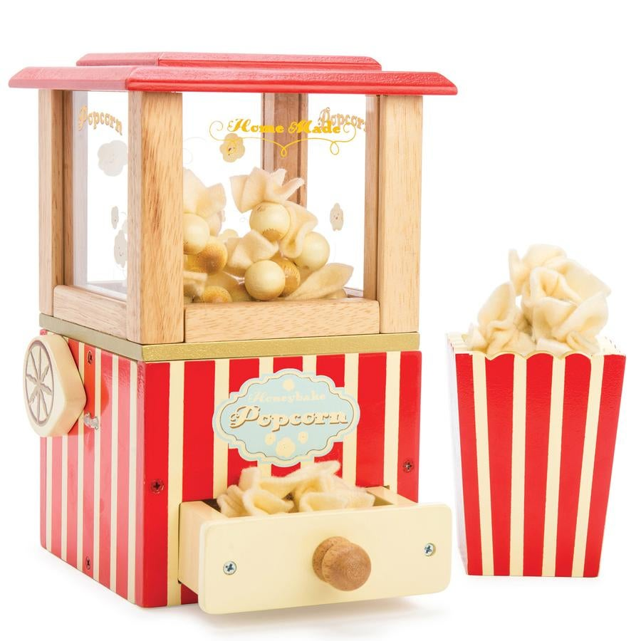 Image of Wooden Popcorn Machine