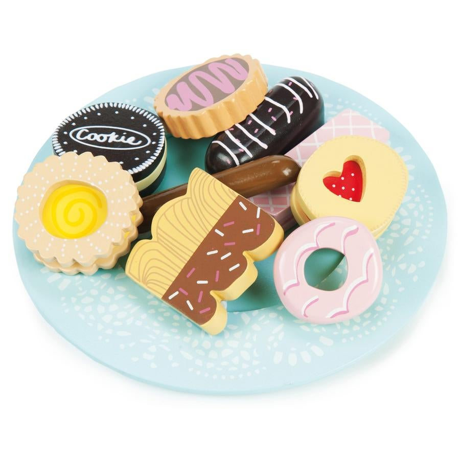 Image of Wooden Biscuit set