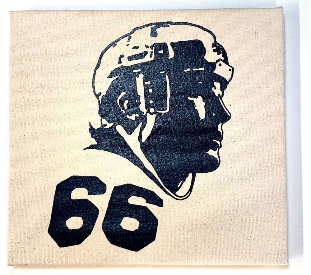 """Image of """"66"""" Limited Edition 1-off mounted canvas print"""