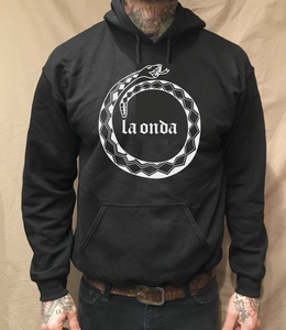 Image of LA ONDA SNAKE HOODIE (FREE-SHIPPING ON THIS ITEM ONLY)