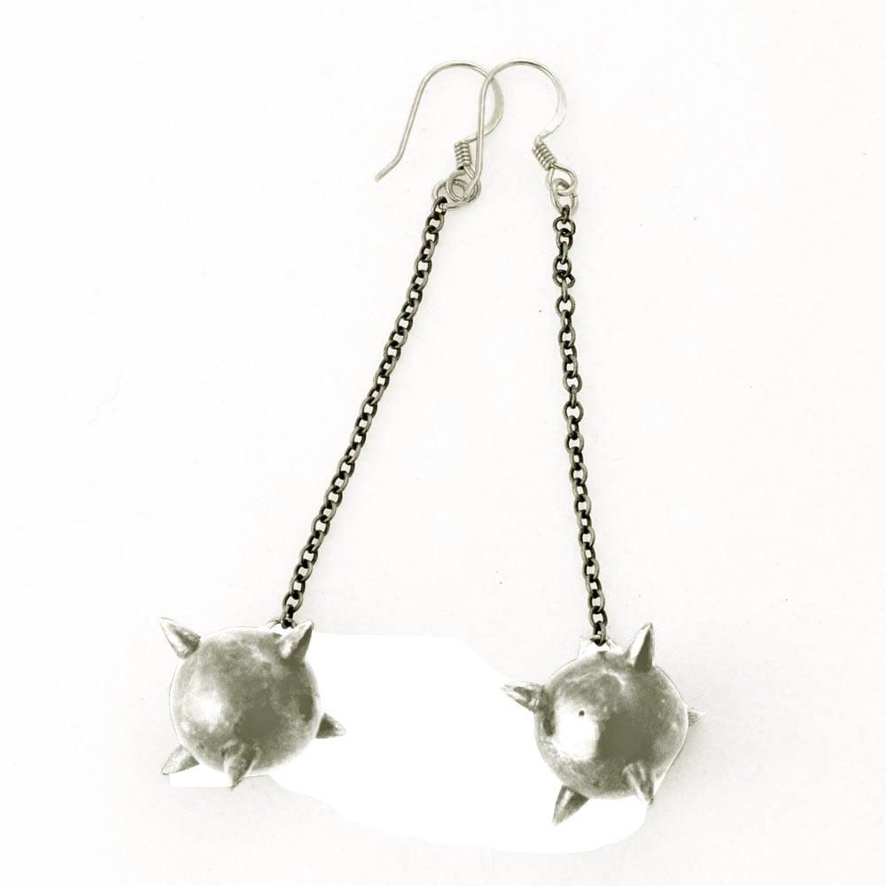 Image of Long Mace Earrings