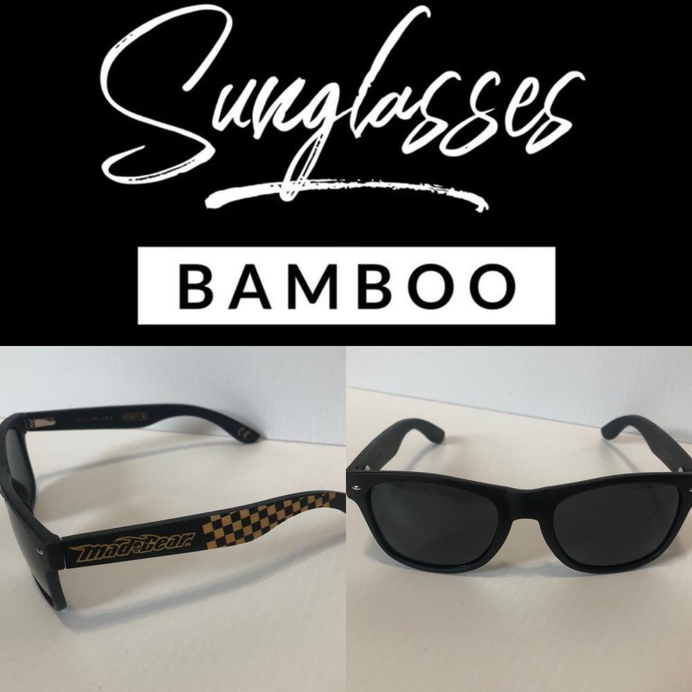 "Image of ""Checkered"" Bamboo RAYBAN Style"