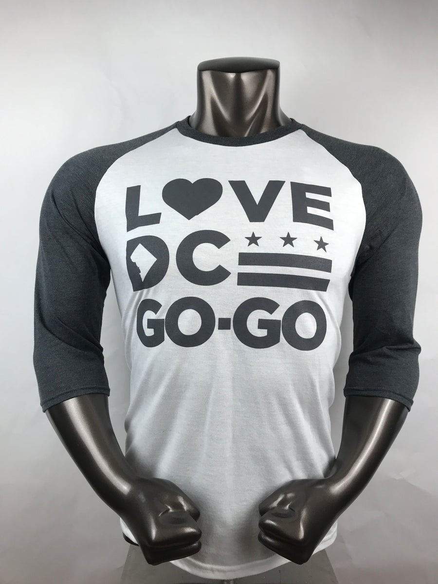 Image of Love DC Go-Go - DC GENERAL Raglan