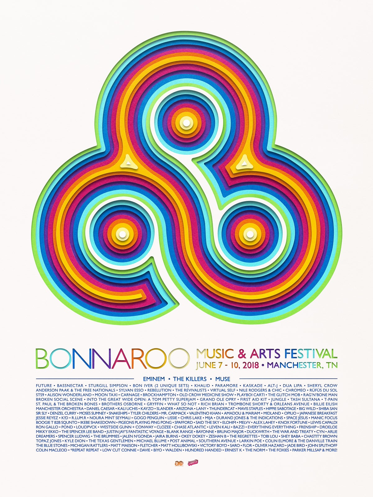 Image of Bonnaroo - Limited Edition Signed Poster