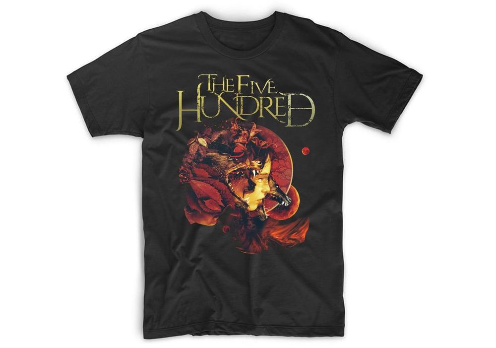 Image of 'Black Dogs' Black T-Shirt