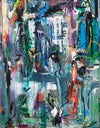 Imagine  - Extra large abstract paintings