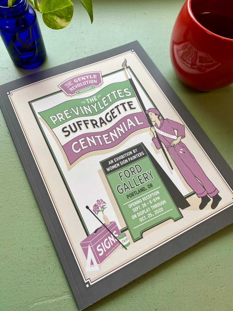 Image of The Pre-Vinylettes' Suffragette Centennial Catalog