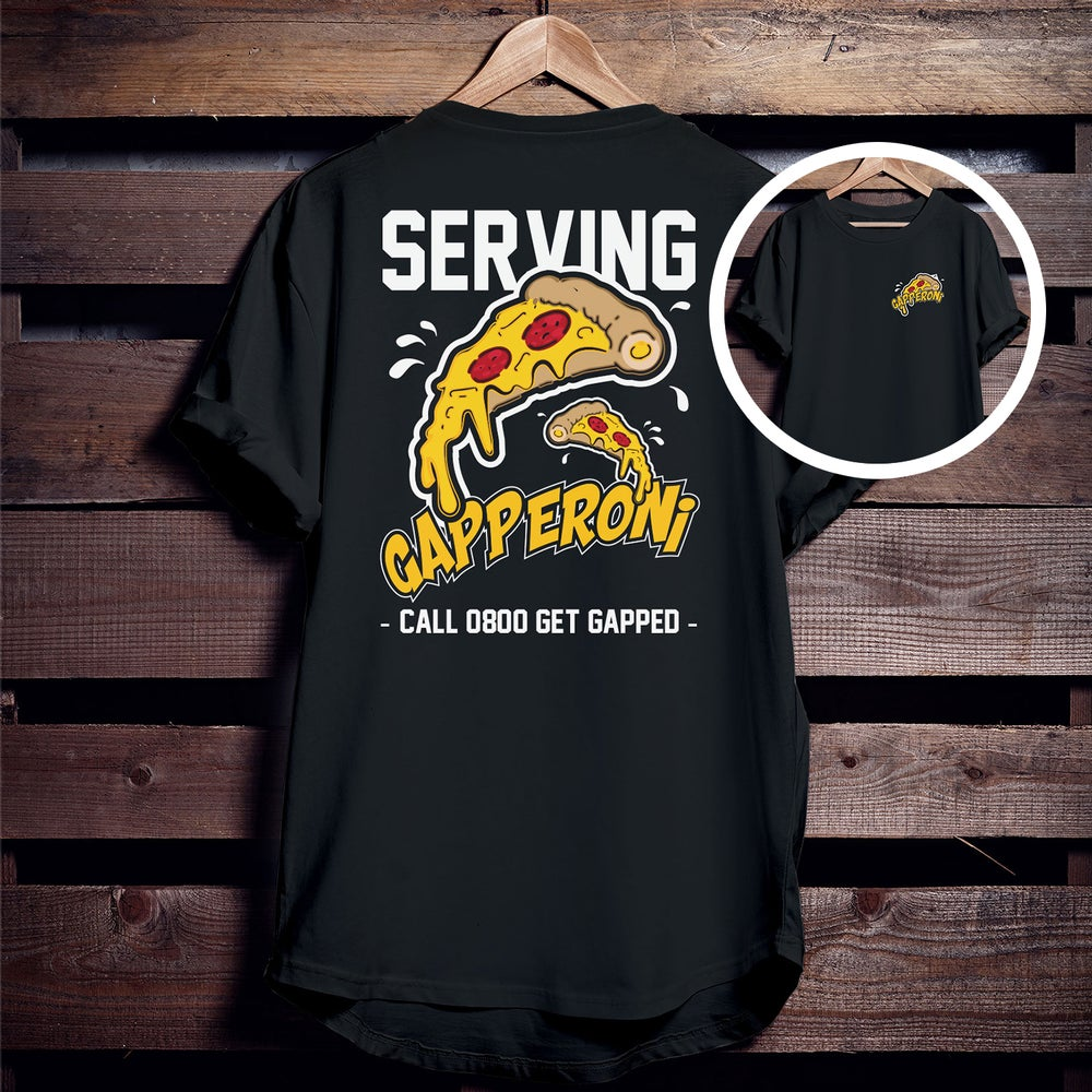 Image of GAPPERONI 'double sided' Tee