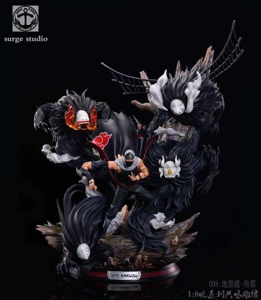 Image of [Last-Stock]Naruto Surge Studio Kakuzu 1:6 Resin Statue