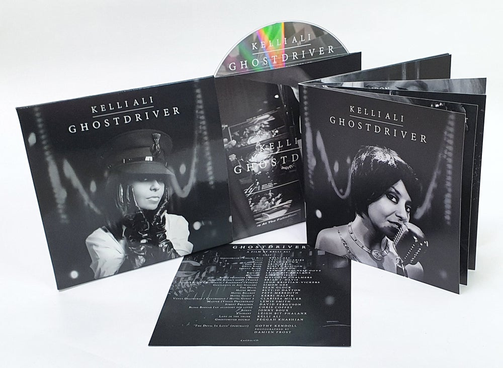 Image of SIGNED GHOSTDRIVER SOUNDTRACK ALBUM CD