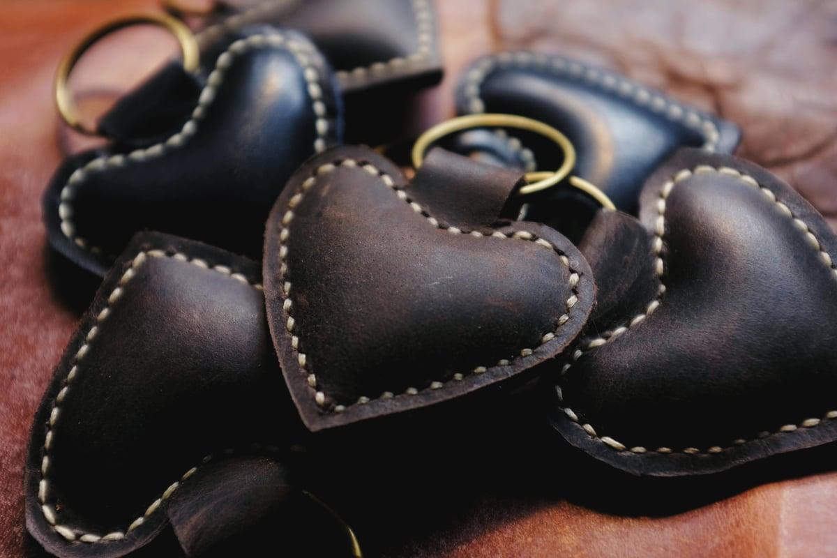 Image of Gärd Heart Keyring