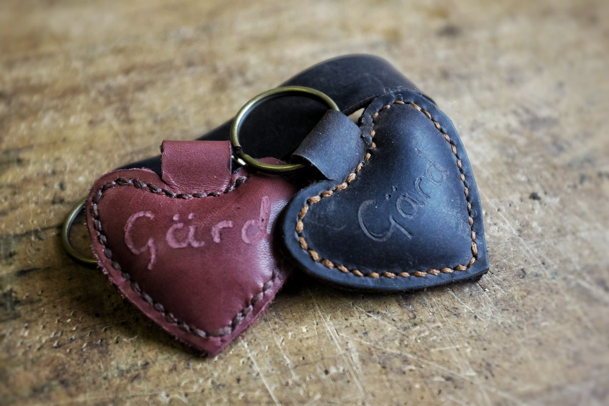 Image of Gärd Heart Keyring