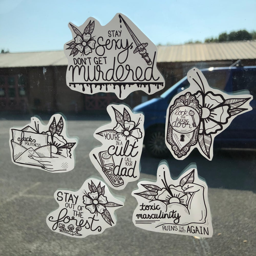 Image of MFM STICKER PACK