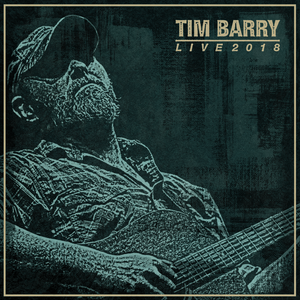 """Image of TIM BARRY """"Live 2018"""" Double Cassette."""