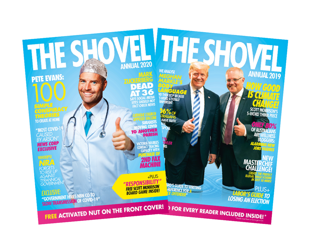 Image of 2020 and 2019 Shovel Annual Bundle