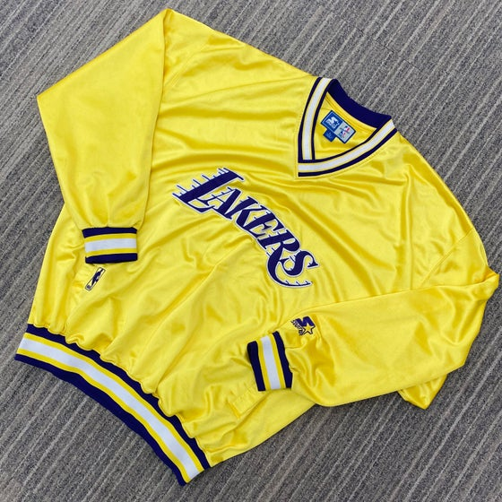 Image of Vintage Los Angeles Lakers Starter Pullover