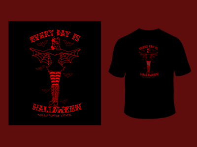 Image of EVERYDAY IS HALLOWEEN T-shirt Pre-Order