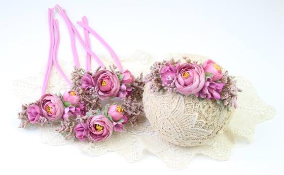 Image of Blooming Beauty Tieback - h
