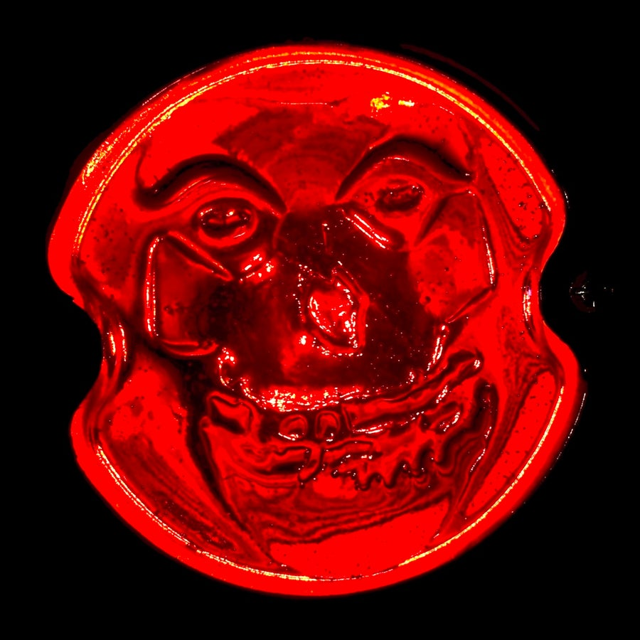 """Image of """"Crimson Ghost"""" 33 style taillight lens (Lens Only)"""