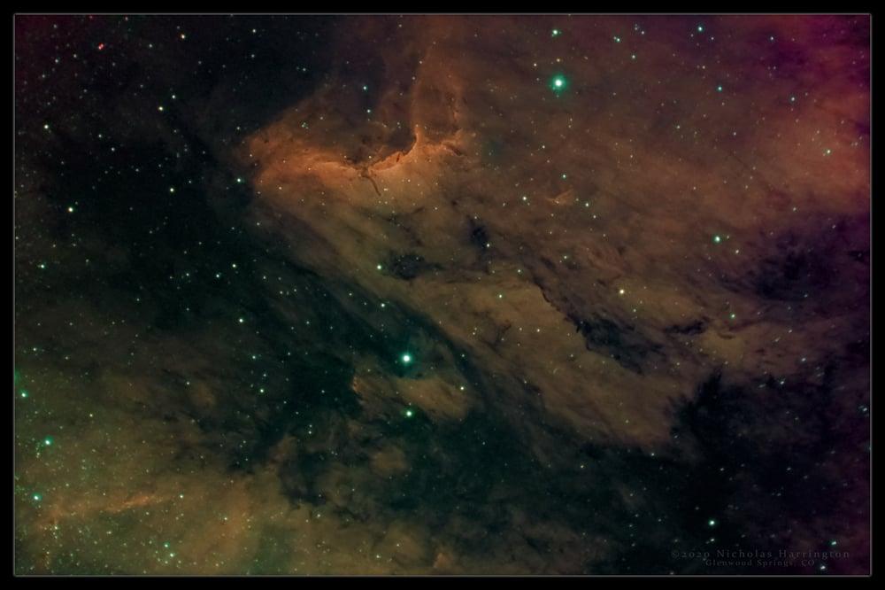 Image of Pelican Nebula