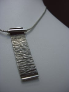 Image of 'Wood effect' necklace