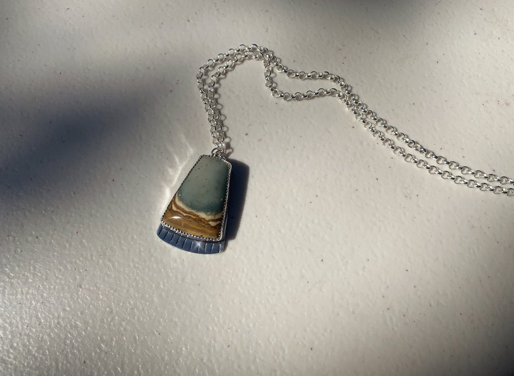 Image of Picture Jasper Necklace III