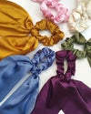 Silky Scrunchie Scarves (5 Colours) (Free Shipping!)