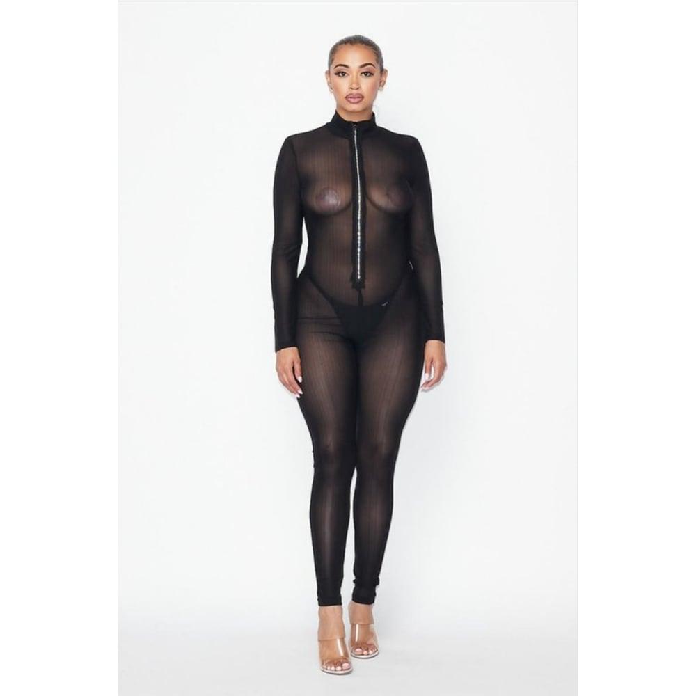 Image of So Chic Jumpsuit (Black)