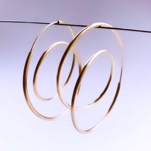 Image of Arracades òrbita or. Pendientes órbita oro