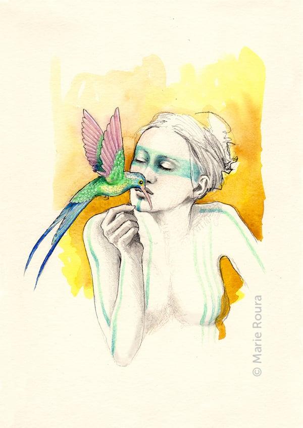 Le Colibri Animal totem