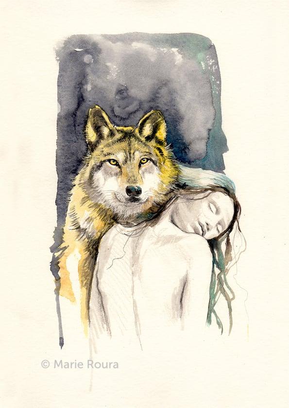 Le Loup Animal totem