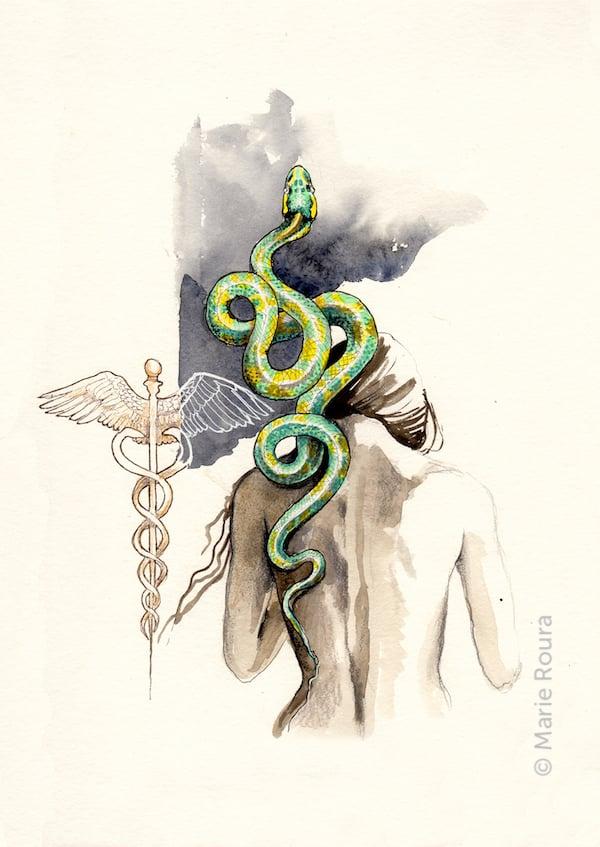 Le serpent Animal totem