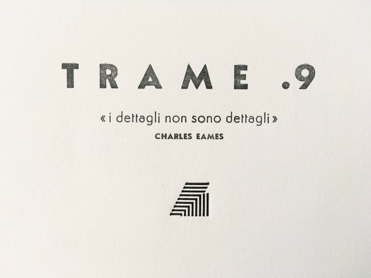 Image of TRAME .9