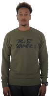 T.S brush logo Sweatshirt
