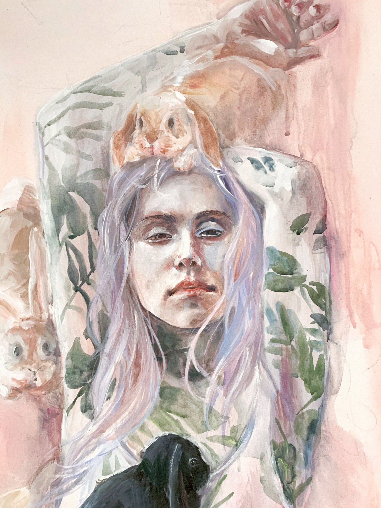Agnes-Cecile nature sunrise
