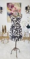 Sweet Heart Navy/Cream Dress
