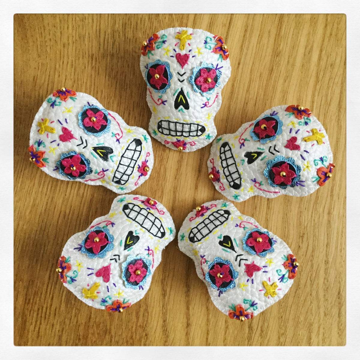 Image of Sugar Skull Brooch