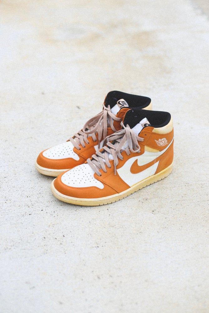 Image of Jordan retro 1 orange '85 inspired