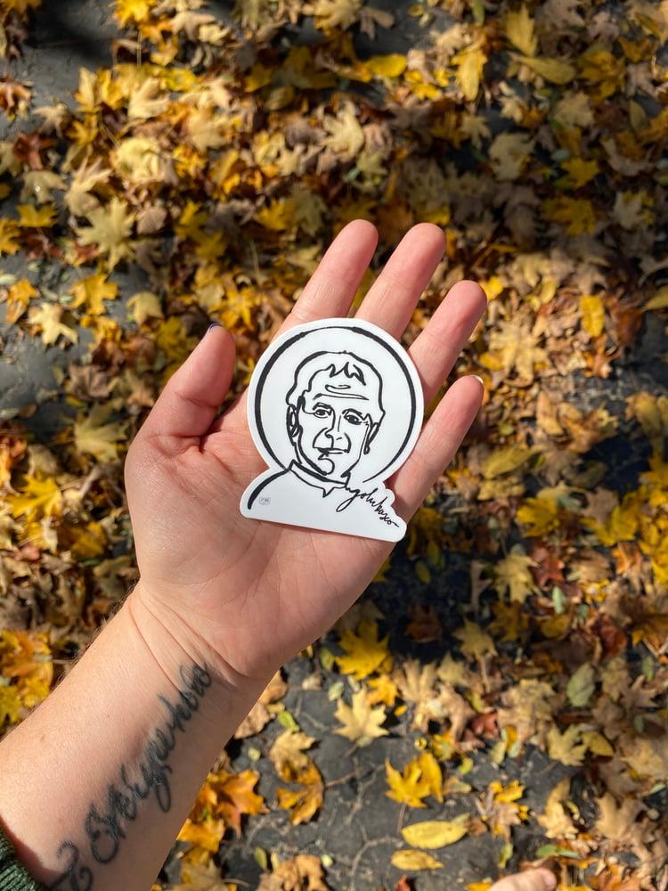 Image of St John Bosco - Matte Sticker
