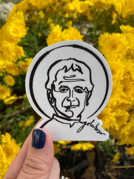 Image of St John Bosco - Matte Sticker