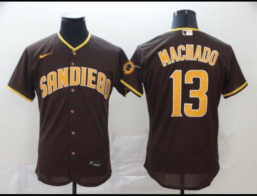 Image of Machado Padres jersey