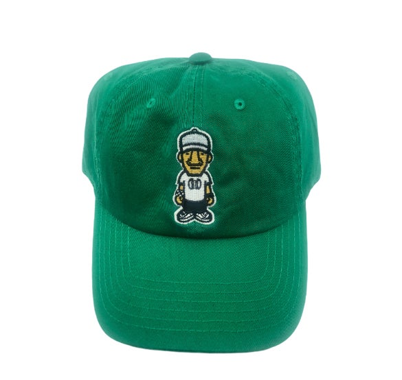 Green Character Logo Dad Hat