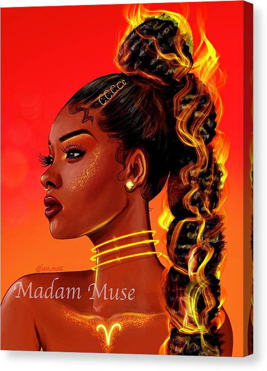 "Image of ""Queen Aries"" Limited Edition Canvas Prints"