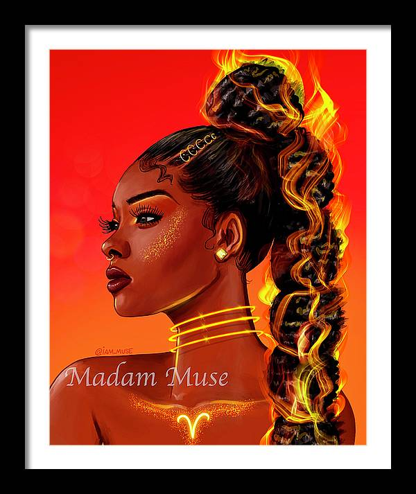 "Image of ""Queen Aries"" Open Edition Prints"