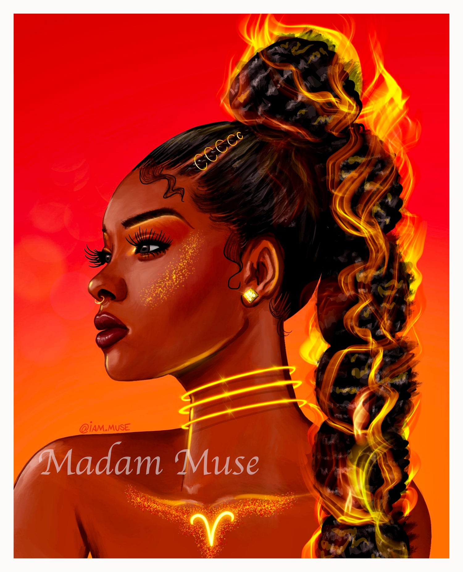 "Image of ""Queen Aries"" Limited Edition Prints"