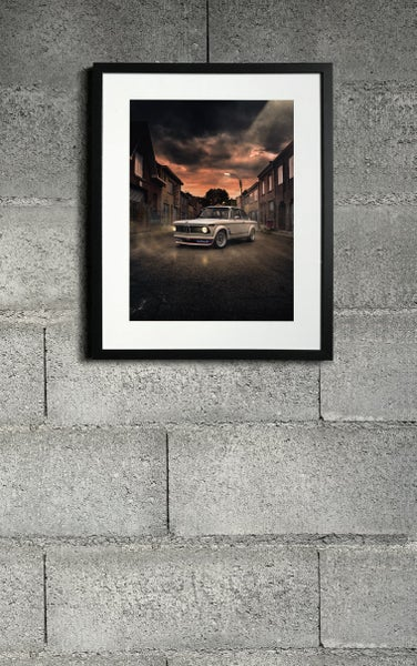 Image of BMW 2002 turbo limited print 10ex
