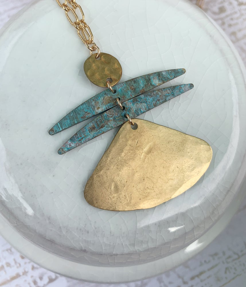 Image of Gold Angel Necklace