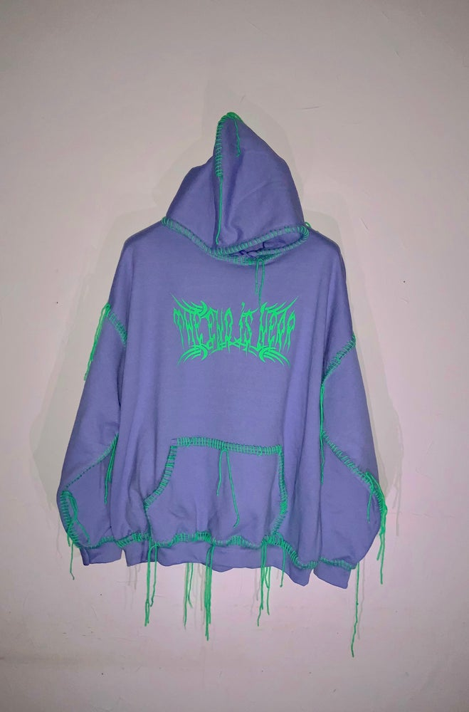 Image of THE END IS NEAR LOGO HOODIE 2020