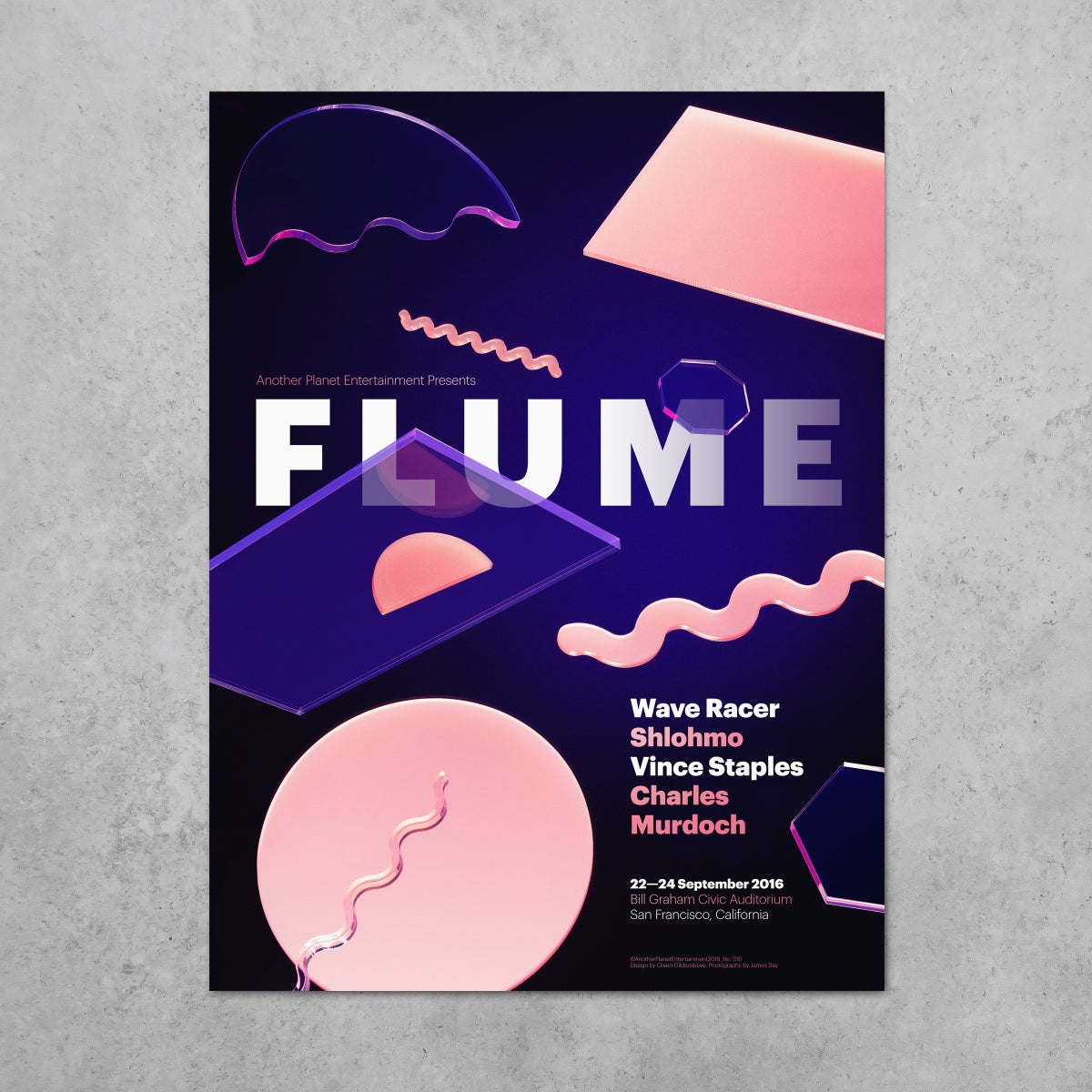 Image of Flume - Limited Edition Signed Poster