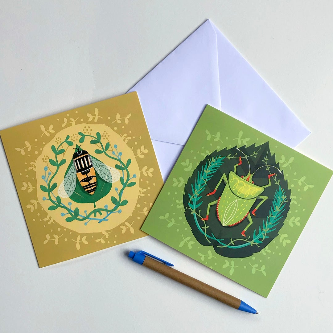 Greeting Card Bundle - Insect range